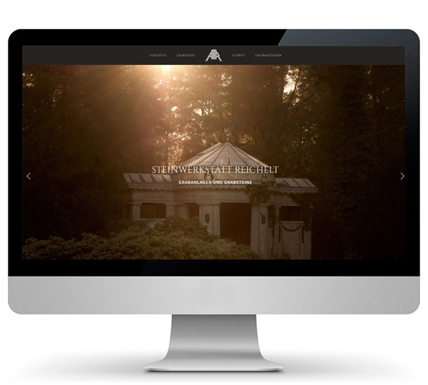 Website Grabsteine Potsdam