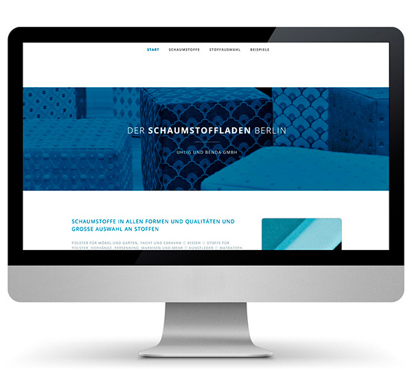 Website Schaumstoffladen Berlin